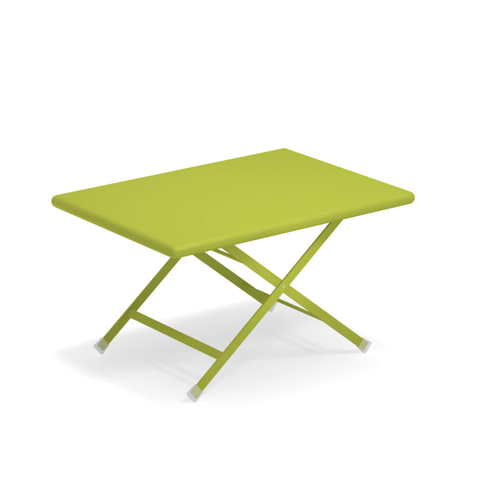 Arc en Ciel Folding Coffee Table - <p>A range of colourful solutions to outdoor living, equally suited to balconies at home or large green gardens. Different sized tables, chairs with or without armrests and footrests, all of which can be folded making this furniture both informal and dynamic. This collection, made from steel, is full of bright, eye-catching solutions that enliven every context thanks to the wide choice ofcoloursavailable.</p>  | Matter of Stuff