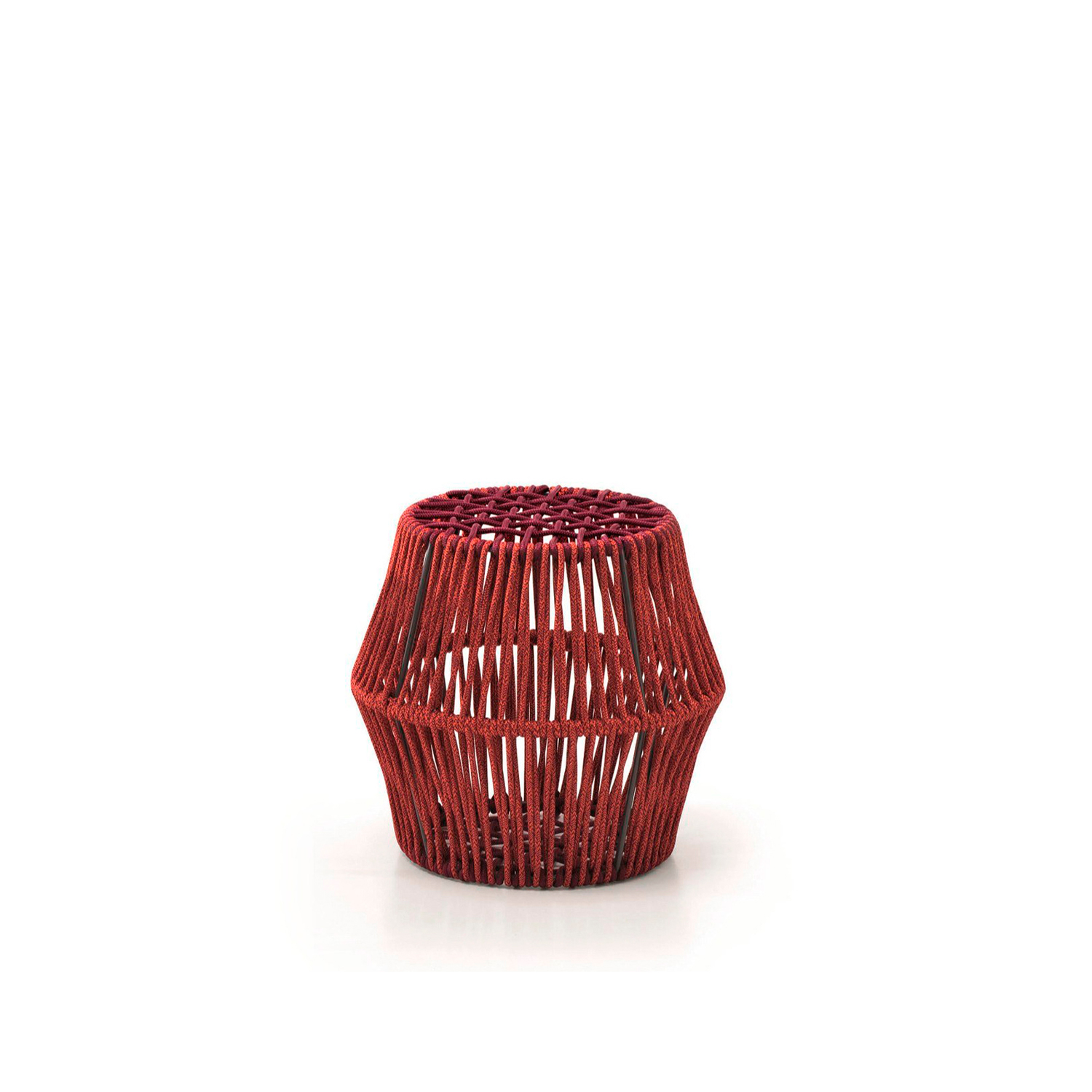 Ziggy Stool Barrel - Ziggy is a round garden stool in polyester rope.‎ Available in two variants.‎