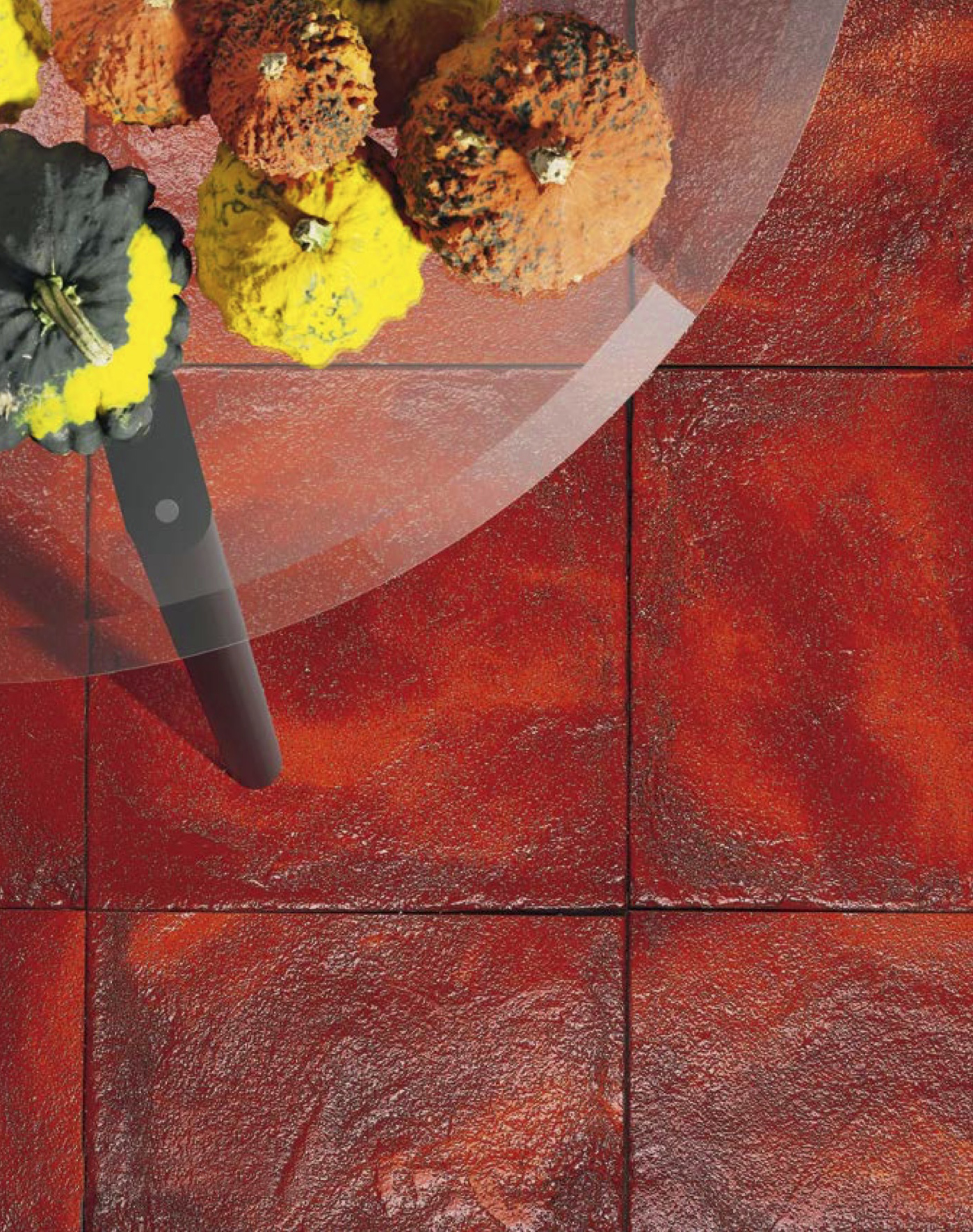 Square Cotto Tiles Lustro Rosso -  | Matter of Stuff