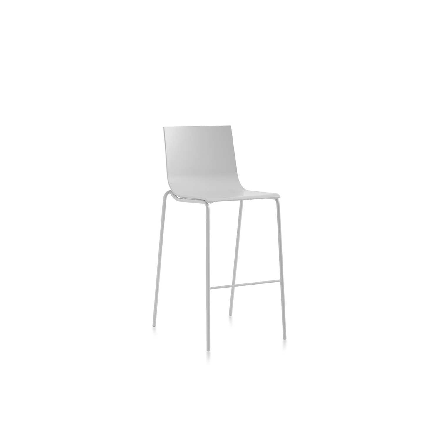 Vent Barstool - <p>Diabla presents their chameleon: the Vent outdoor barstool, an item that seems to change its appearance depending on the colour you choose. In neutral tones like white, light grey or anthracite, it comes across as a discreet, sober, elegant design. But in colours like pink, red, blue or yellow it can become that colourful, fun item that's clamouring to be noticed.</p>  | Matter of Stuff