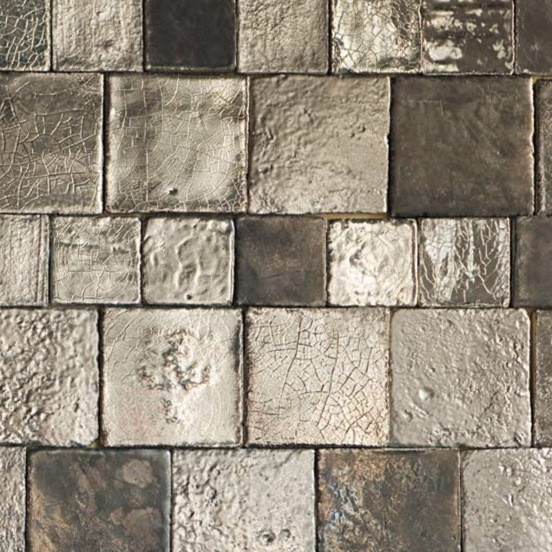 Square Cotto Tiles Mix Platinum -  | Matter of Stuff