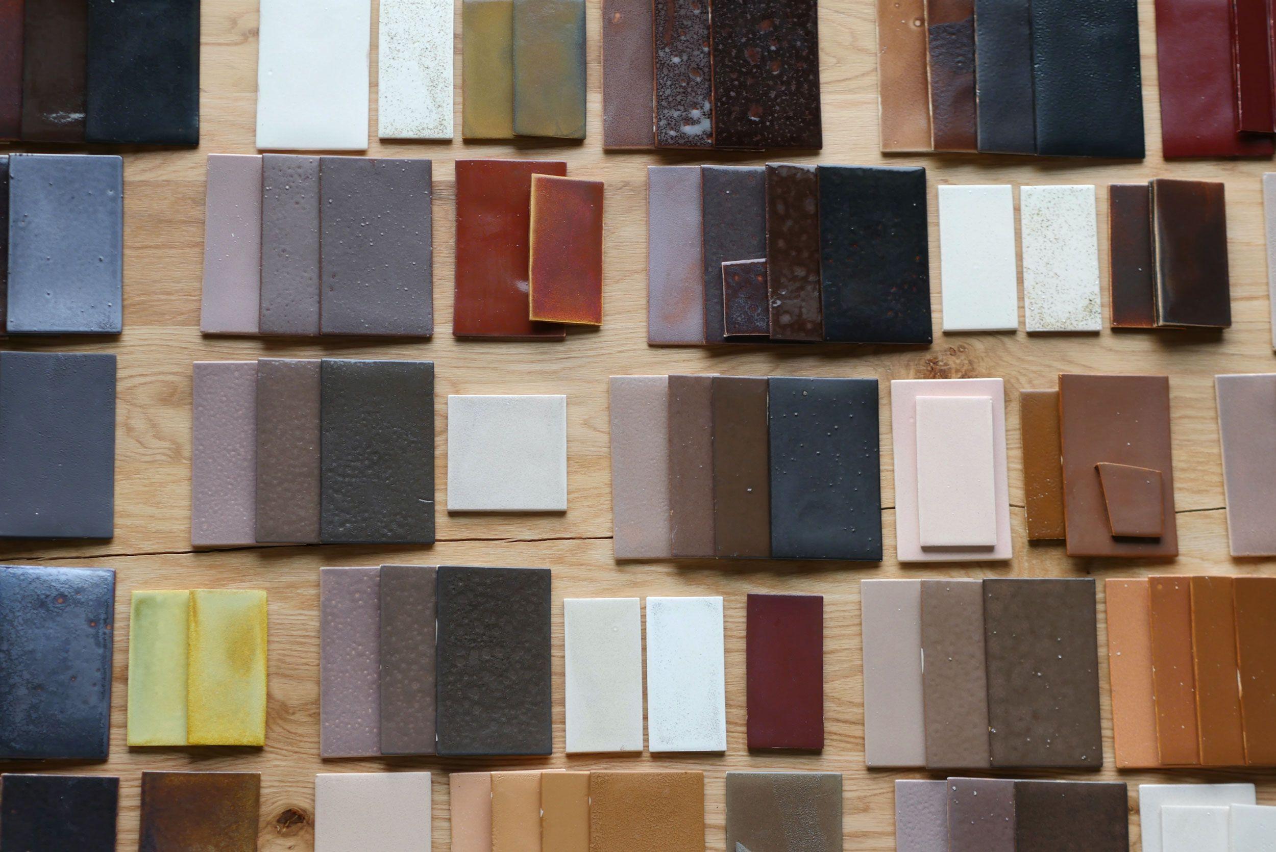 FE5S_9 Iron Waste Glazed Tiles