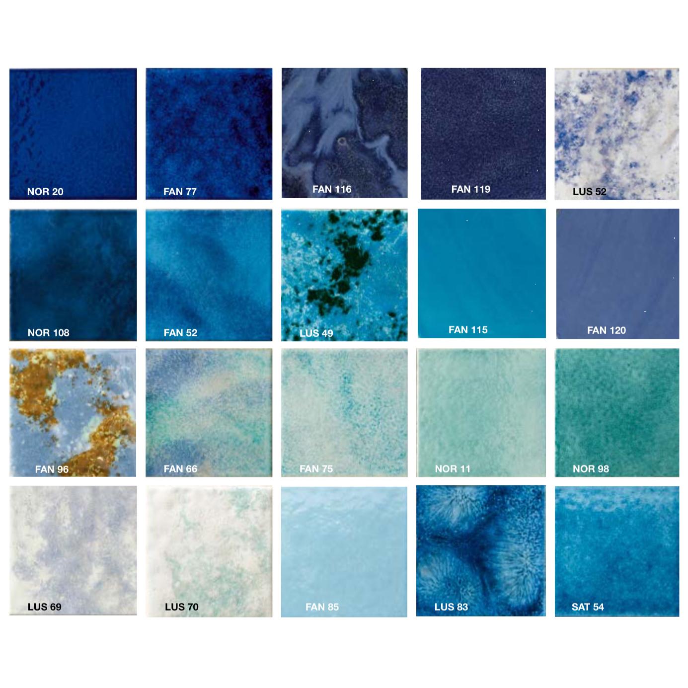 Listelli Mosaics Blue