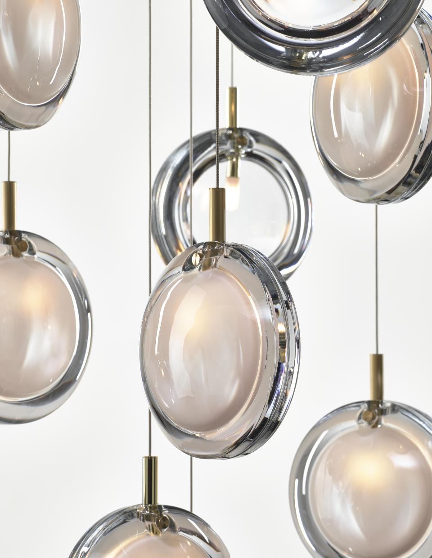 Lens Single Pendand Lamp