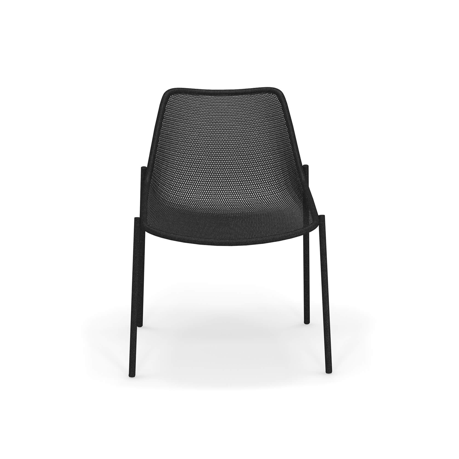 Round Dining Chair - Set of 4 - With its sleek design and option of four finishes this steel chair fits into most outdoor spaces. It is stackable so is easily stored during winter months and comes in a set of four.   Round is a collection defined by its search for structural balance and soft lines, an interpretation of outdoor space that conveys stylistic but essential refinement. Clean and basic shapes mark the range elements that make up this collection.</p>  | Matter of Stuff