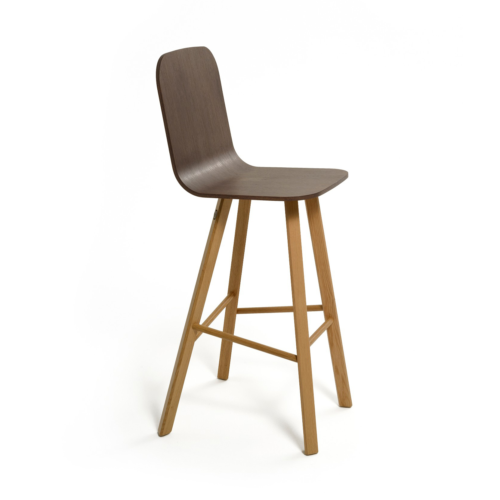 Tria Stool - Variation on Tria Simple, this stool is suitable both for homes and contract with the 2 version low back LB or high back HB. Bent plywood shell, available in 3 different variations with a range of fabics, leather and paint options. UPHOLSTERY A range of fabrics and colours are available for the upholstered option, prices may vary. Please feel free to contact for full details and other enquiries.  | Matter of Stuff