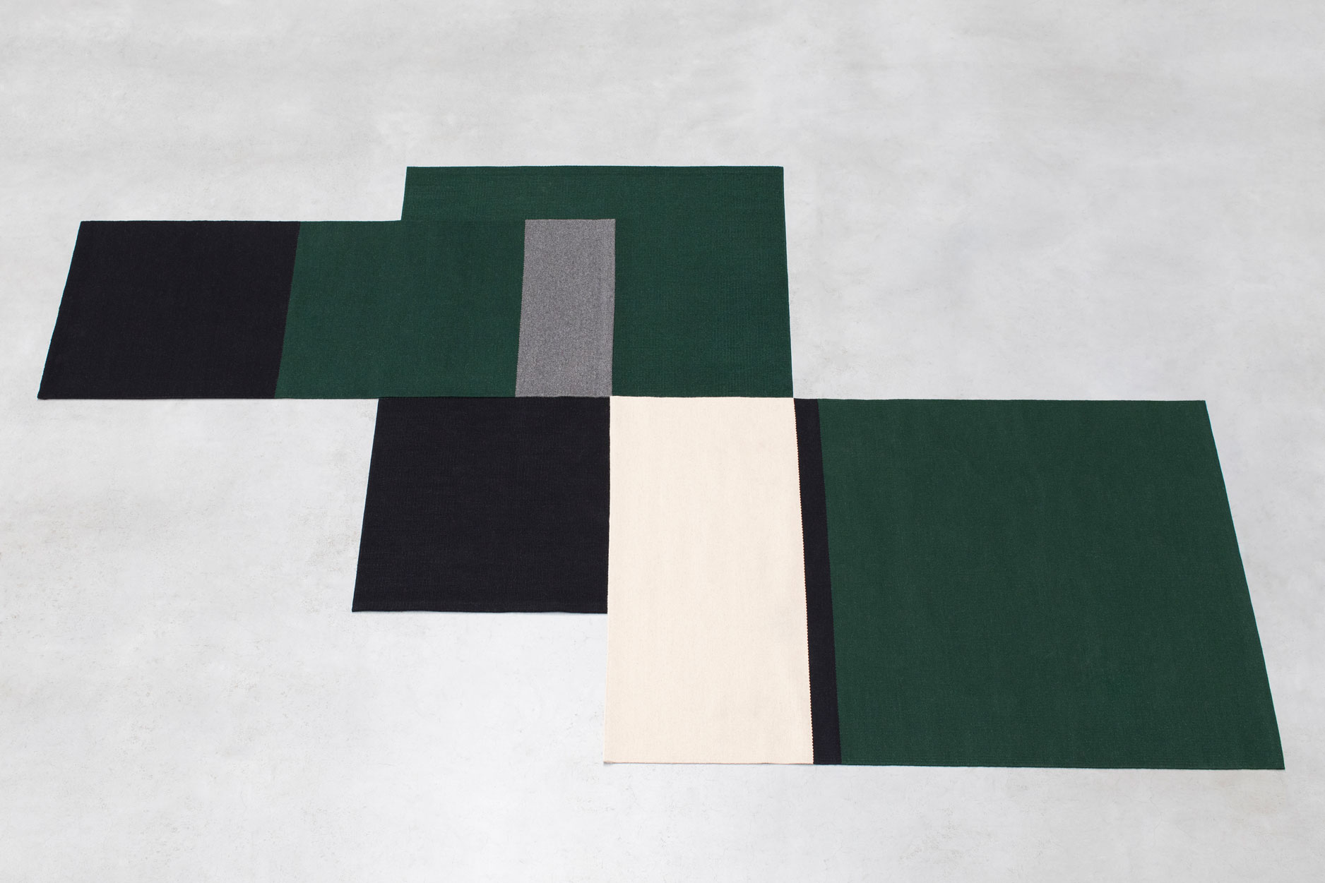 Ivy Small Rug - <p>The Alfred collection consists of five series (Fran, Frenzy, Lucy, Ivy, Billie) of handwoven minimalist carpets made by Belgian textile designers Marie Mees and Athérine Biasino. Firstly, all carpets are handwoven with a mixture of two top-shelf wools from New Zealand and Portugal, the first offering the right softness and look, the other adding strength. Secondly, the designers envision a minimalist aesthetic that resonates timelessness and not trendiness. In fact, hyped colours are fiercely avoided. By offering highly durable and supremely sober carpets, the Alfred Collection honours the archetype of the carpet, pure in form and in function, making it the perfect textile for the minimalist interior of the design admirer. Composition of the carpet is a mixture of Merino, New Zealand and Beira Alta (Portuguese wool).</p>  | Matter of Stuff