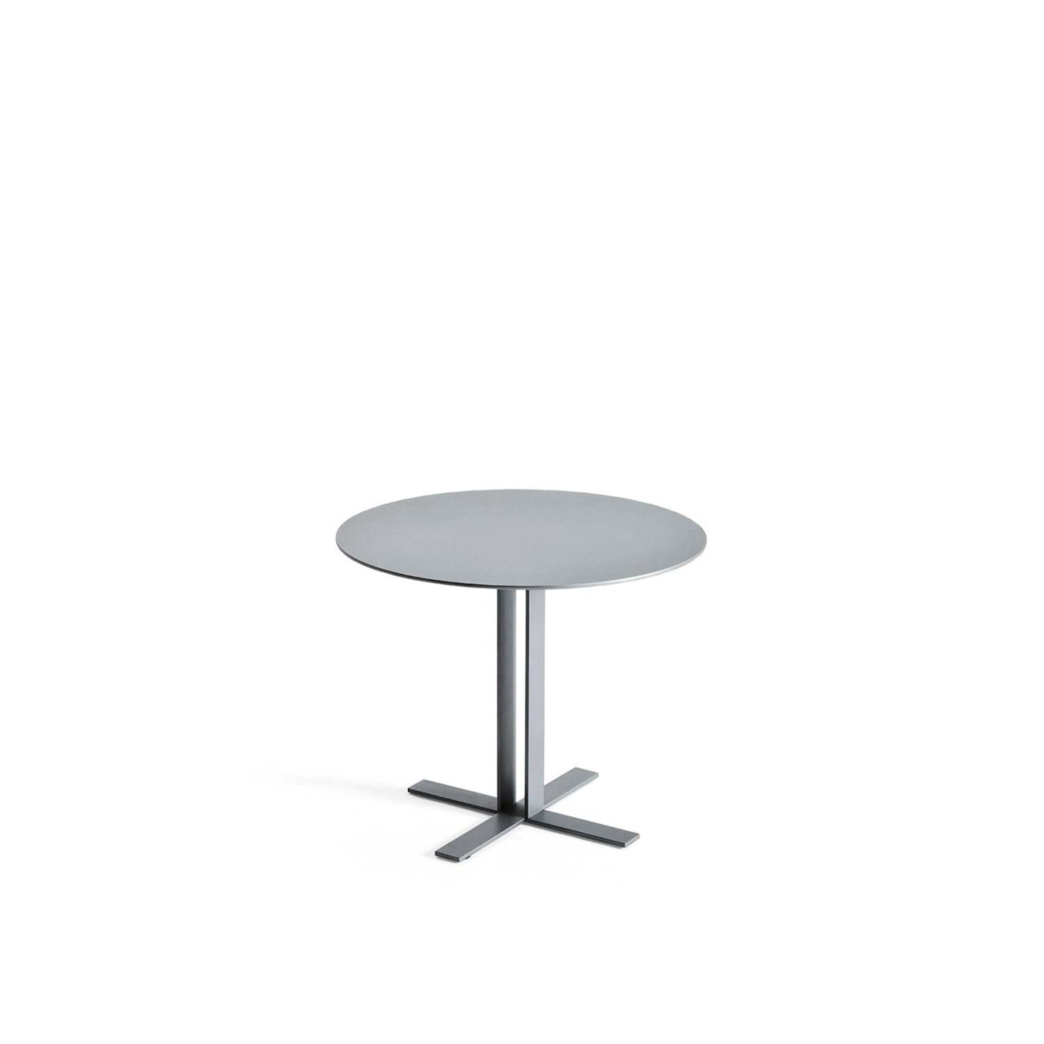 """Più Coffee Table - Più is a light, crisp and stylish table with a strong, clean design and an elegant, dainty spirit. Metal base and MDF top. Available in a matt lacquered finish.  Materials: Top in MDF h 16 mm matt painted mounted on òegs realized in metal plates by 40x6 mm section welded to """"L"""" with base. 