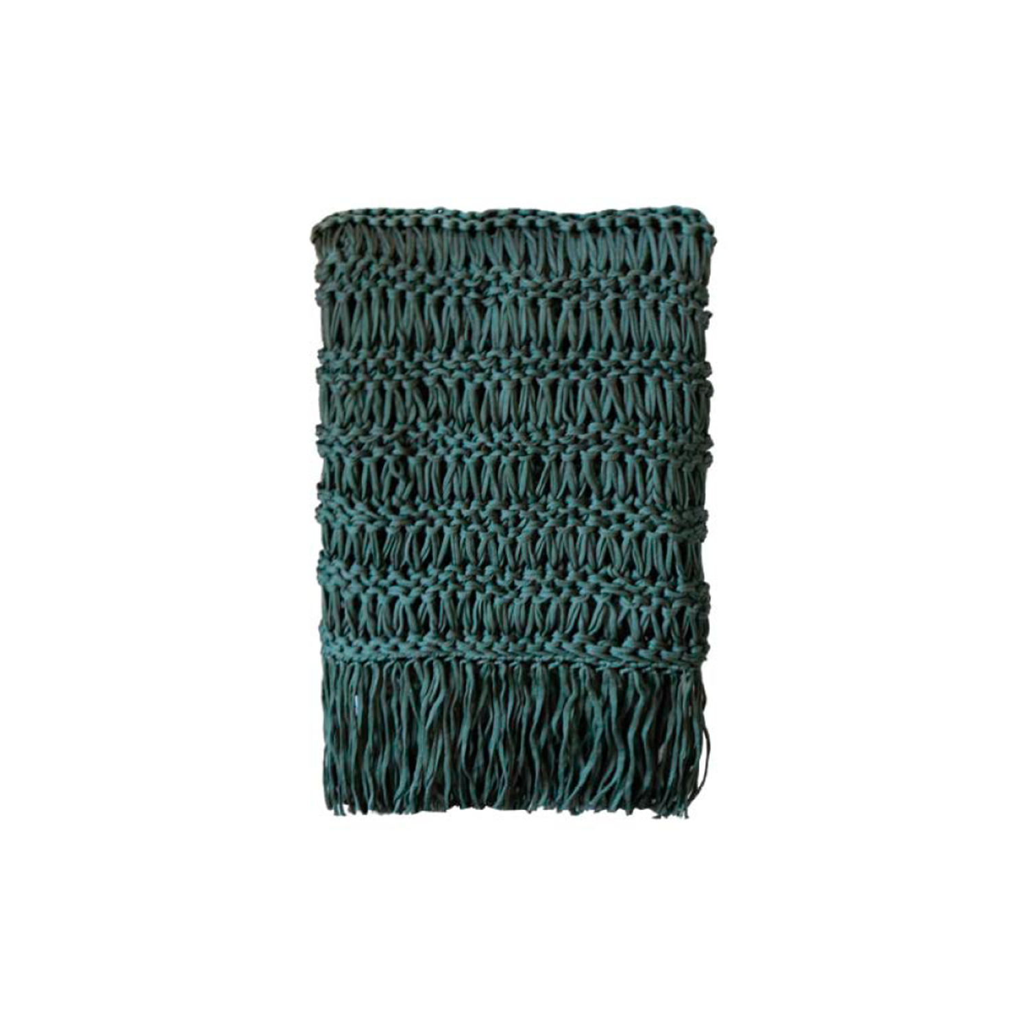 Veleiro Nautical Throw - The Veleiro Nautical Throw is carefully knitted within a trained community of women that found in their craft a way to provide for their families. The outdoor collection is made with synthetic fibres, resistant to weather exposure. The throw is hand woven nautical cord, made in Brazil.   Bespoke sizes and colours are also available upon request, see colour chart for reference.   | Matter of Stuff