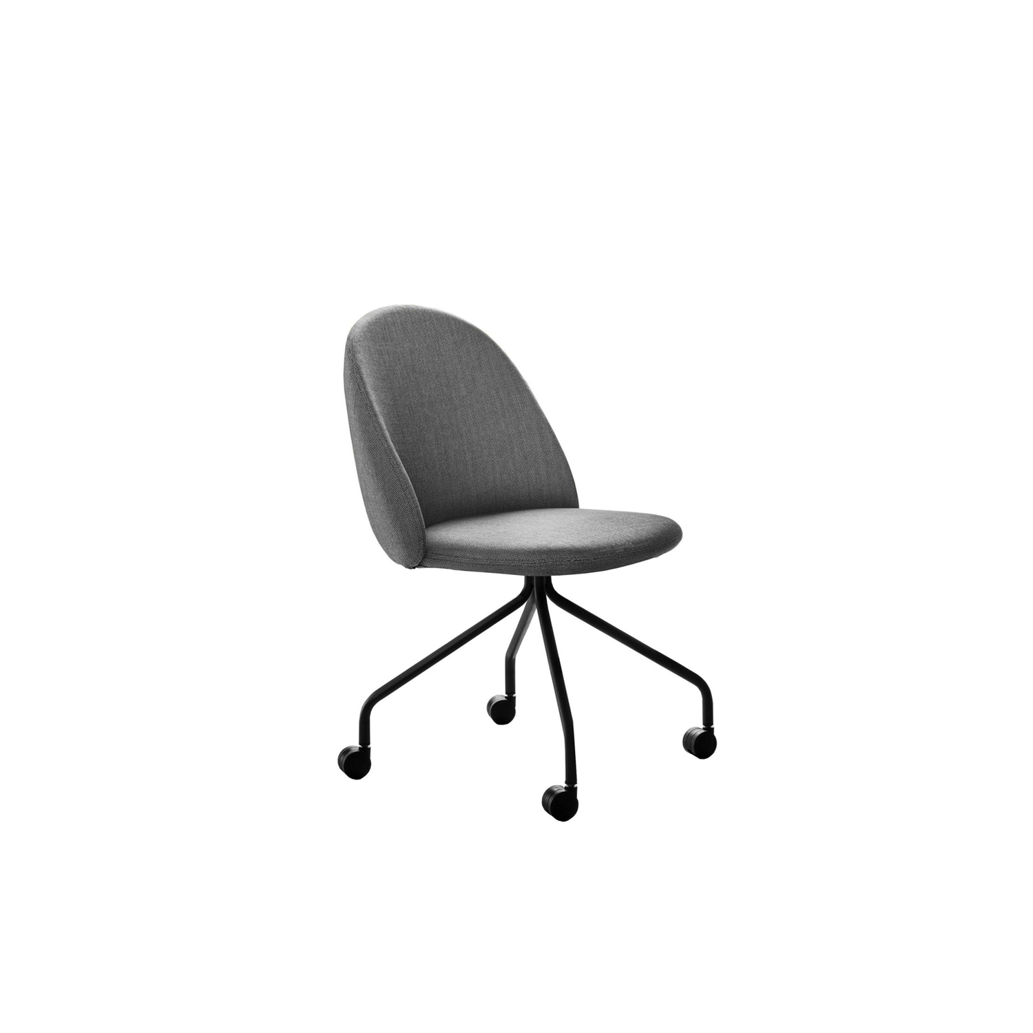 Iola Swivel Chair - Iola shows off design with an international approach, focusing on the ergonomics of the form, ensuring a careful look, one with character. We have given the body the shape of a shell, producing it in expanded polyurethane. Then, on the advice of the hardest to please, we pulled the wings and then the two large arms came out. Iola hints at fashion but comes across as a modern classic.