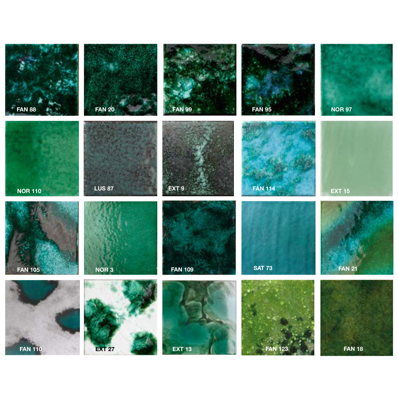 Rectangular Tiles Green -  | Matter of Stuff