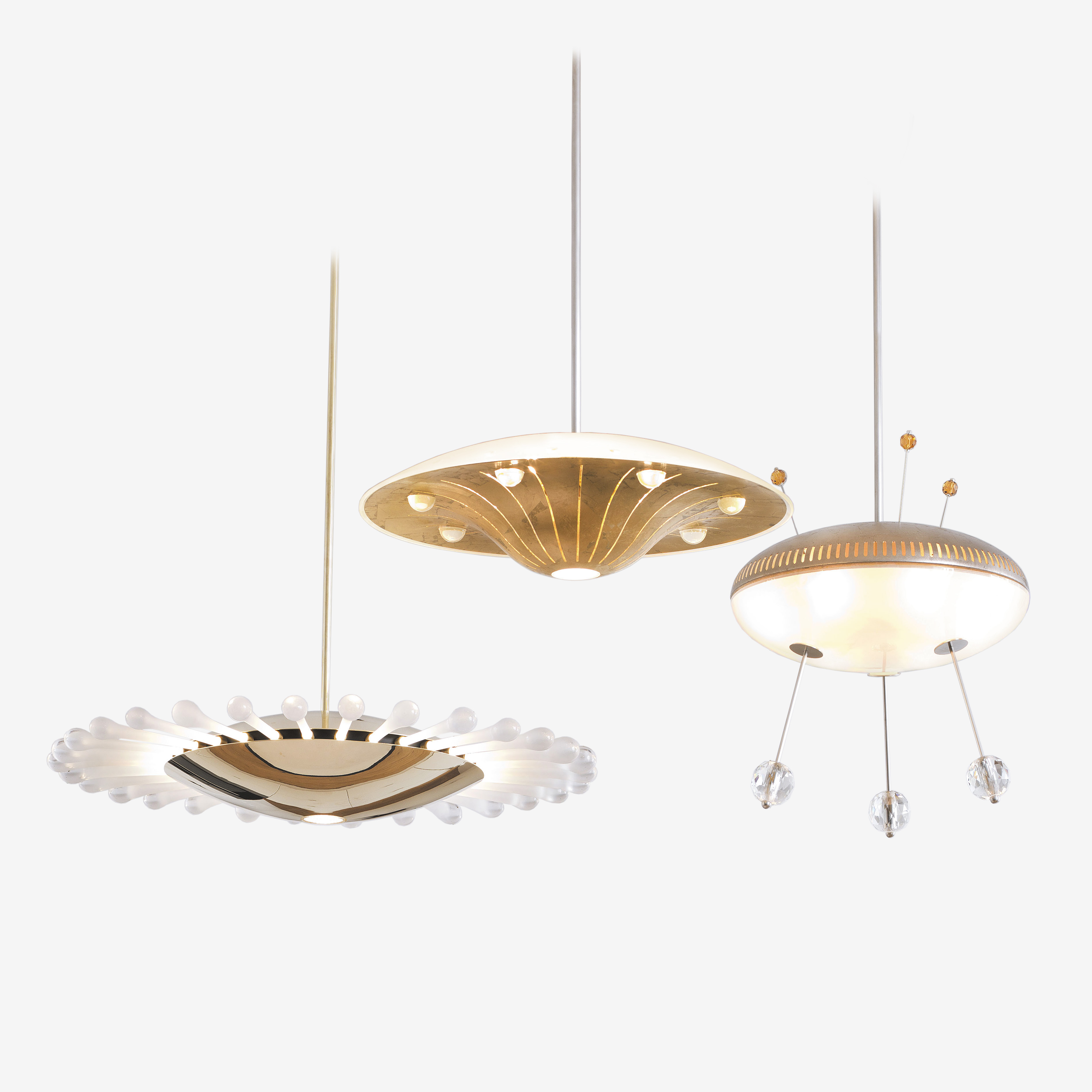 Space Ship Nyota Chandelier