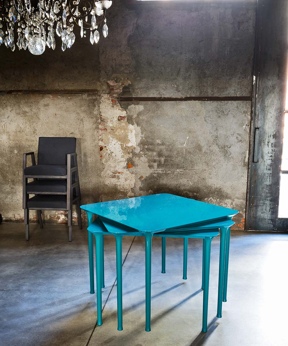 Spindle Square Table