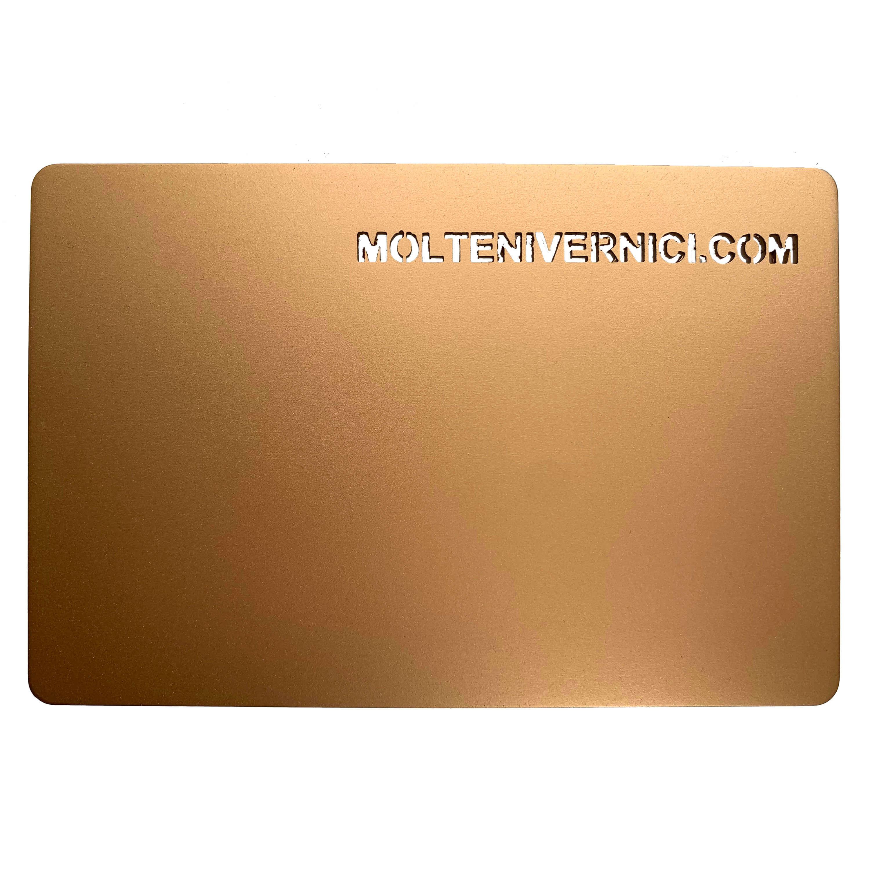 Never Oro Classico Flat Metal Varnish