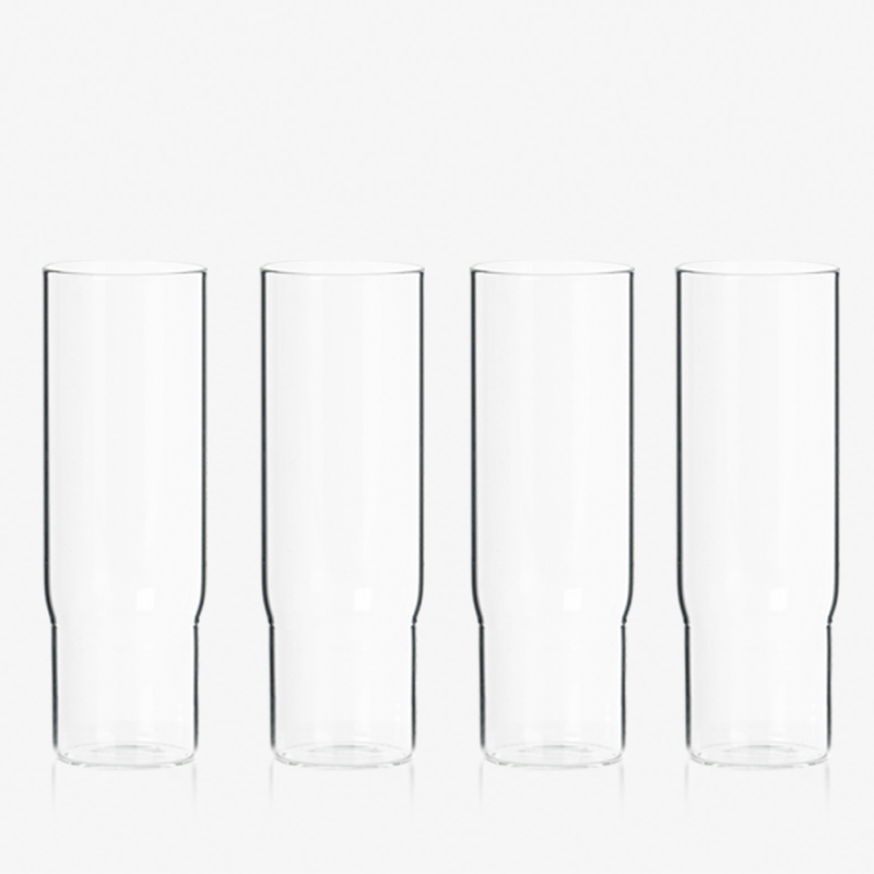 Column Glasses Set - <p>Column party glass are designed to be stacked when full to allow a new way to serve drinks at parties.Rather than carrying a tray of drinks through a crowd, stacks of full glassescan be served in this secure,spectacular and entertaining way.<br /> Sold in boxes of 4 glasses.</p>  | Matter of Stuff