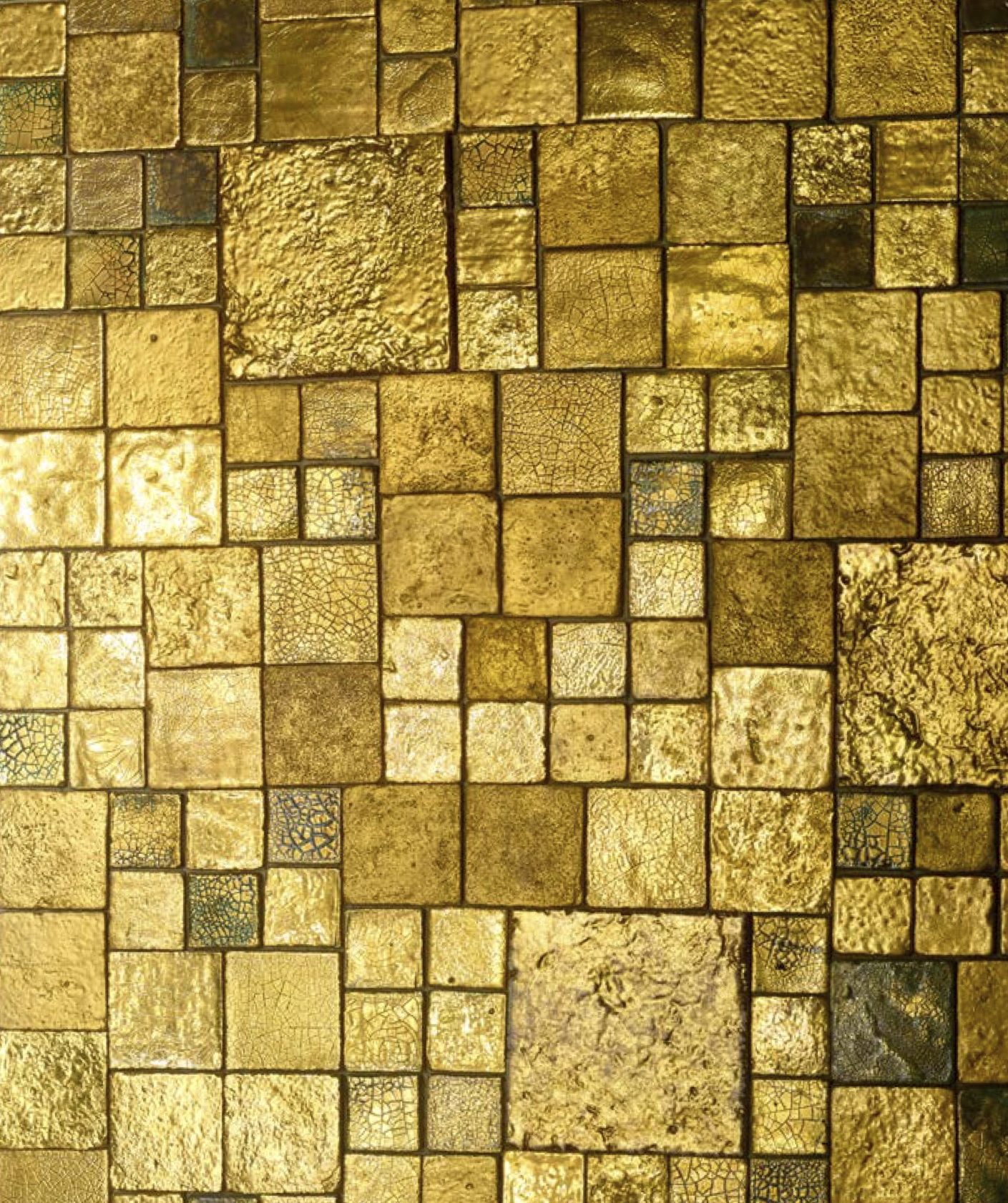 Square Cotto Tiles Mix Gold -  | Matter of Stuff