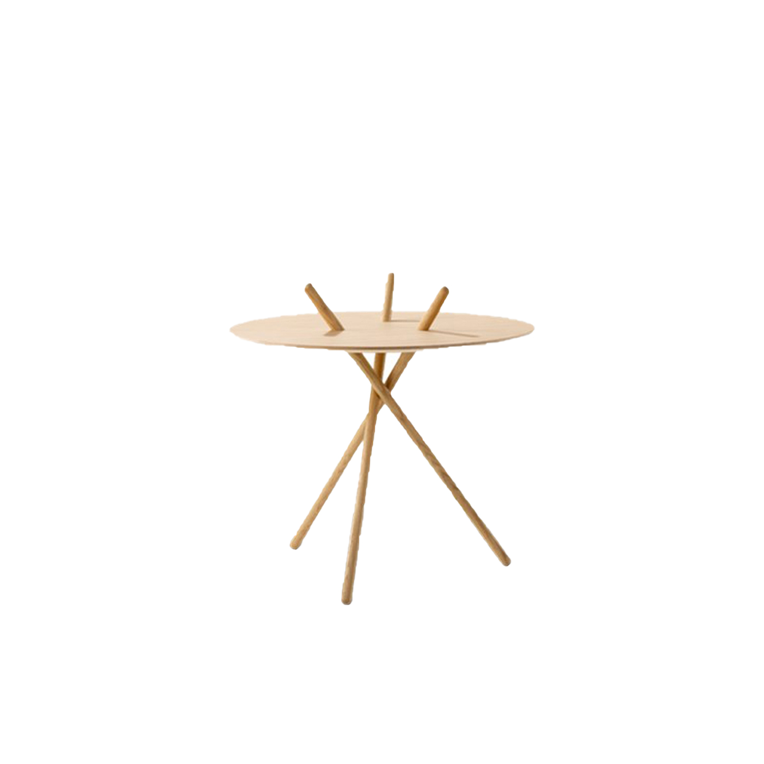 Micado Table - A game using sticks was the inspiration behind Micado. The simple, three-legged construction is assembled without hardware and supports itself.  Although many of our sofas and lounge chairs comprise our most celebrated designs, we have smaller pieces that are distinctive, well-crafted, modern originals in their own right. Pieces that add a touch of personality and practicality. A sense of cosiness. As punctuations to a style statement. Or just the pieces you were looking for to create a sense of completeness. Because when it comes to interior décor, sometimes the smallest detail can make the biggest difference. | Matter of Stuff