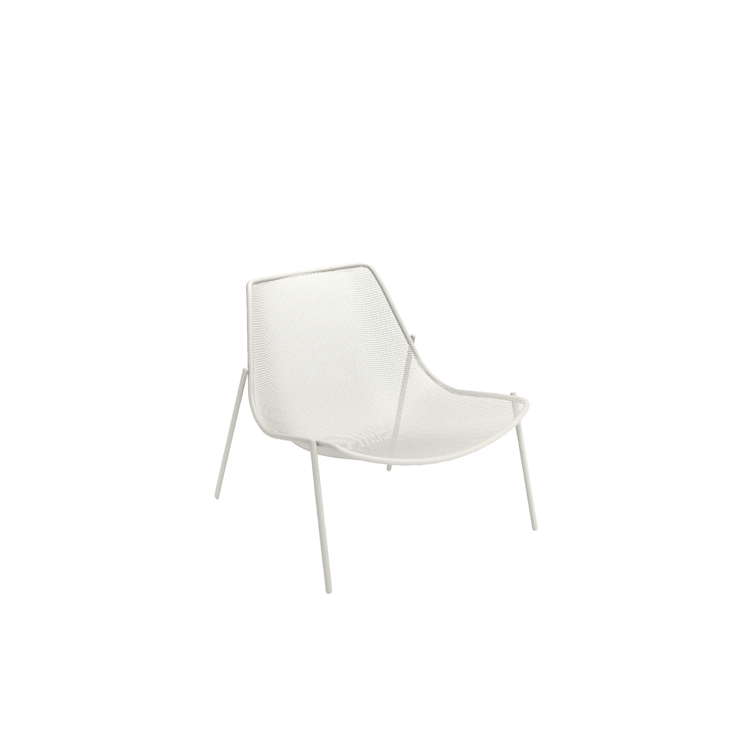 Round Lounge Chair - Set of 2 - Round is a collection defined by its search for structural balance and soft lines, an interpretation of outdoor space that conveys stylistic but essential refinement. Clean and basic shapes mark the range of elements that make up this collection.  | Matter of Stuff