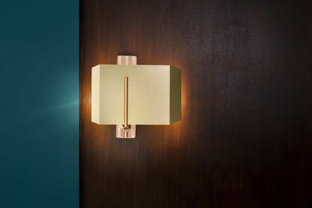 Aegis Wall Light - <p><span>Machined almost entirely from solid brass or copper, this geometric light offers contrasts in materials and textures to create a bold statement. </p> <p>The Aegis Wall Light is available in both right and left hand versions so it can be styled as opposing pairs. </p> <p></span></p>  | Matter of Stuff