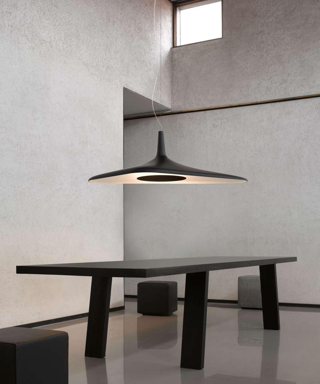 Soleil Noir Suspension Lamp