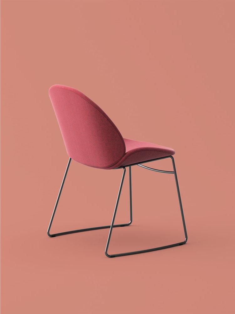 Rose Steel Chair