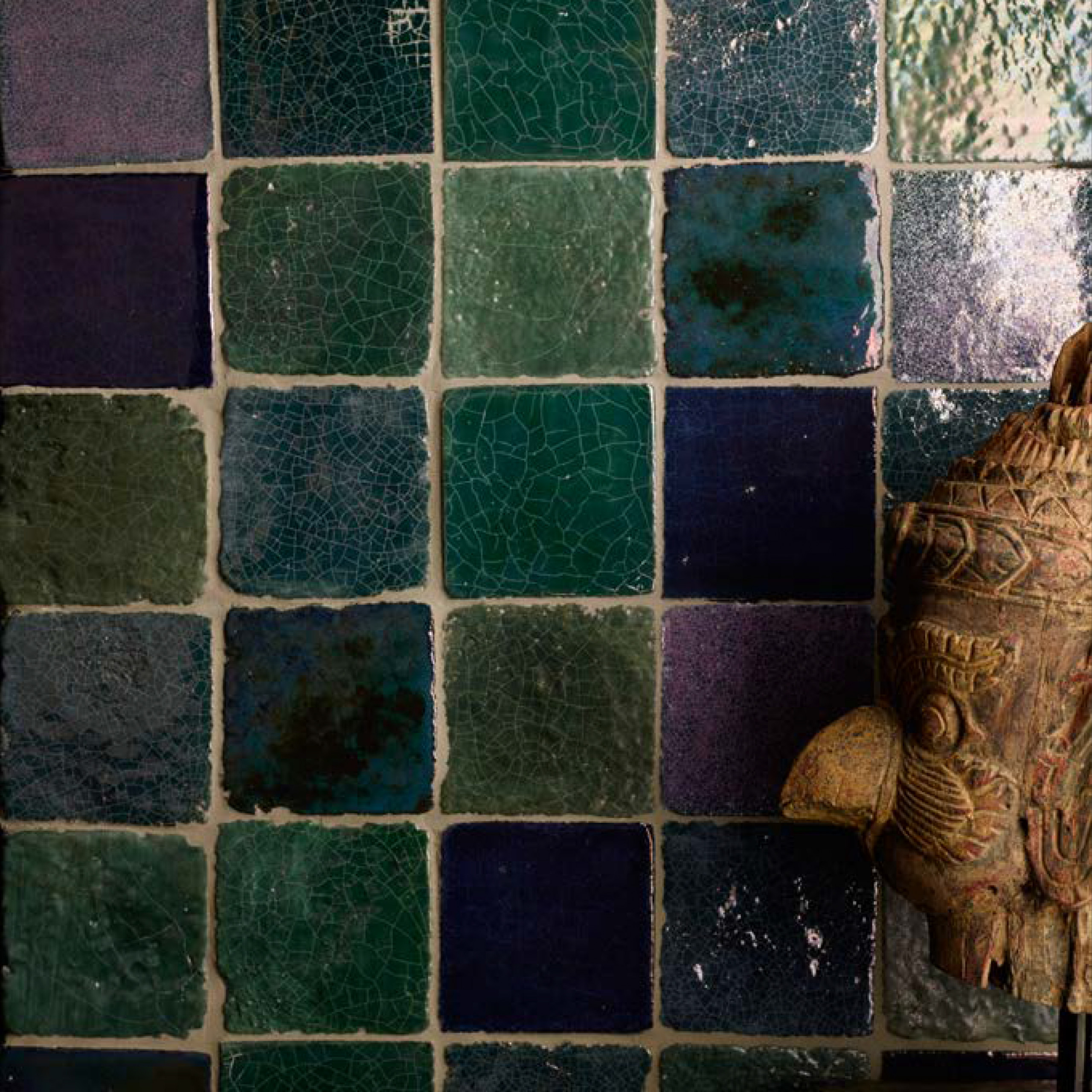 Square Cotto Tiles Lustro Verde -  | Matter of Stuff