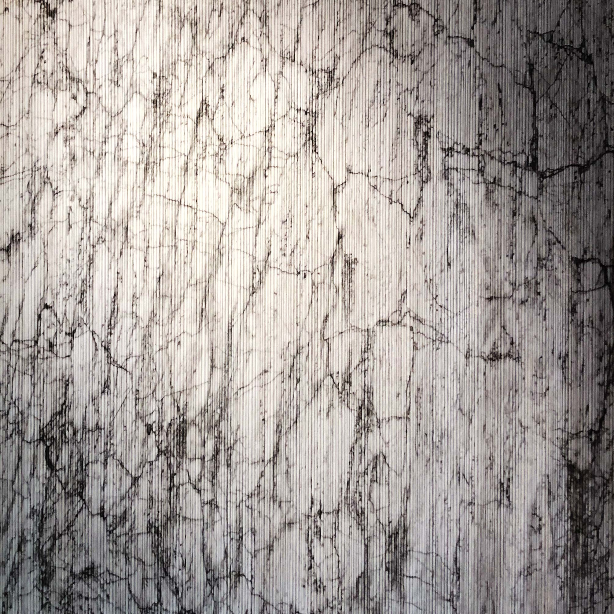 Cannette - This texture is composed by a mesh of vertical lines that form a delicate and striking visual layer over the marble. This texture can be applied to most marbles in our collection, please request for more information. | Matter of Stuff