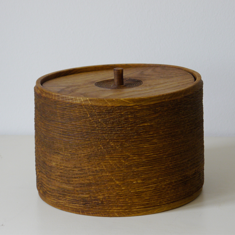 Bowl 08 - <p>The artistic work of the trained carpenter and film-director Fritz Baumann is expressed in award-winning films and unique works in wood.<br /> No. 08 Bowl is hand carved inOak, then limed.</p>  | Matter of Stuff