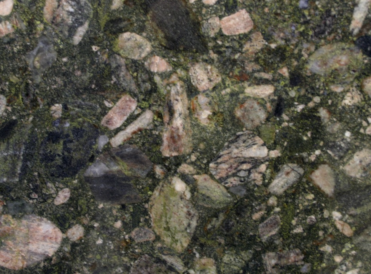 Marinace Verde - Marinace Verde granite originates from Brazil. Because of its unique appearance it is very popular in using for kitchen and bathroom designs.   Matter of Stuff