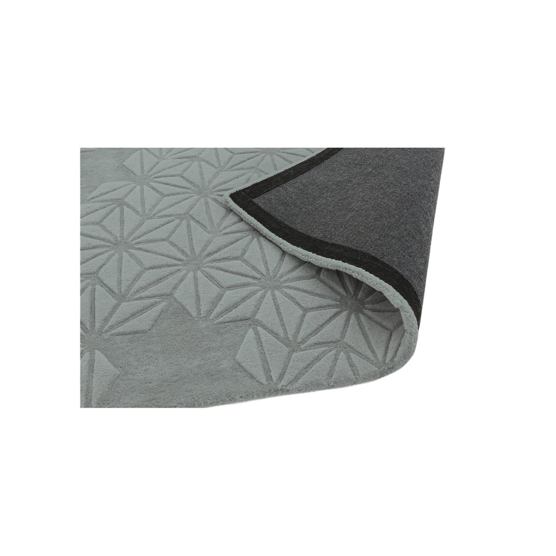 Starburst Silver Rug
