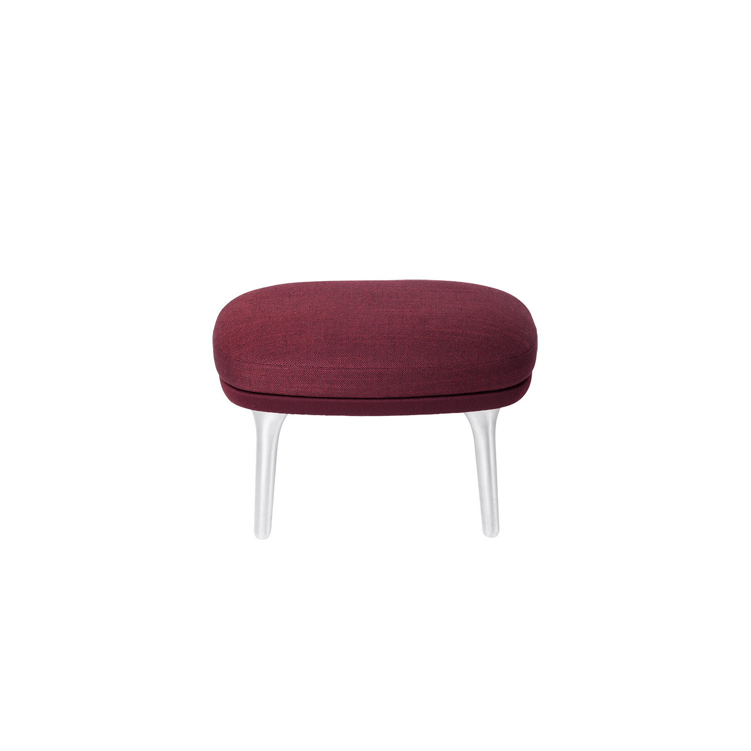 Ro Footstool - <p>Add the cherry on top for your Ro™ easy chair with a Ro™ footstool. Small, movable and multifunctional - for tired feet or today&#039;s newspaper. </p> <p>The seat cushion for the footstool is made of moulded polyurethane foam to achieve the right form and comfort and comes fully upholstered in fabric or leather. The footstool matches both the Ro and the Fri lounge chairs.</p> <p>The base comes with four legs made of brushed aluminium or solid oak. Each leg has nylon glides suitable for a majority of floors.</p> <p>A range of materials, colours and finishes are available in a number of combinations. Prices may vary. Please enquire for full details.</p>    Matter of Stuff