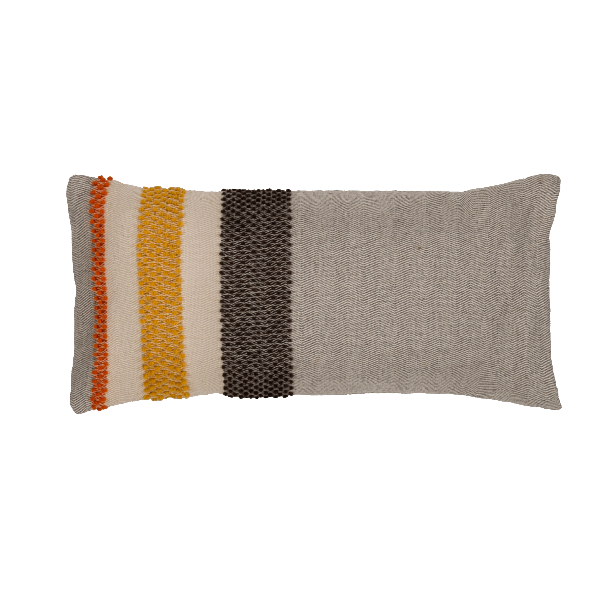 Modulo Cushion - Made with Pibiones and Aramu technique 90% wool, 10% cotton.  | Matter of Stuff