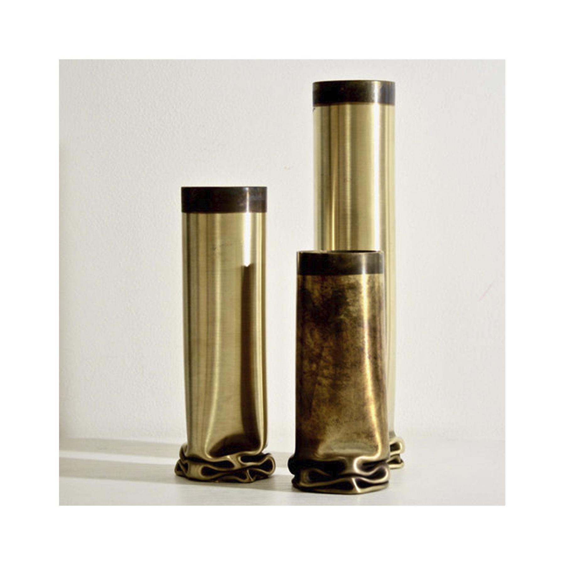 Hot Brass Small Vase