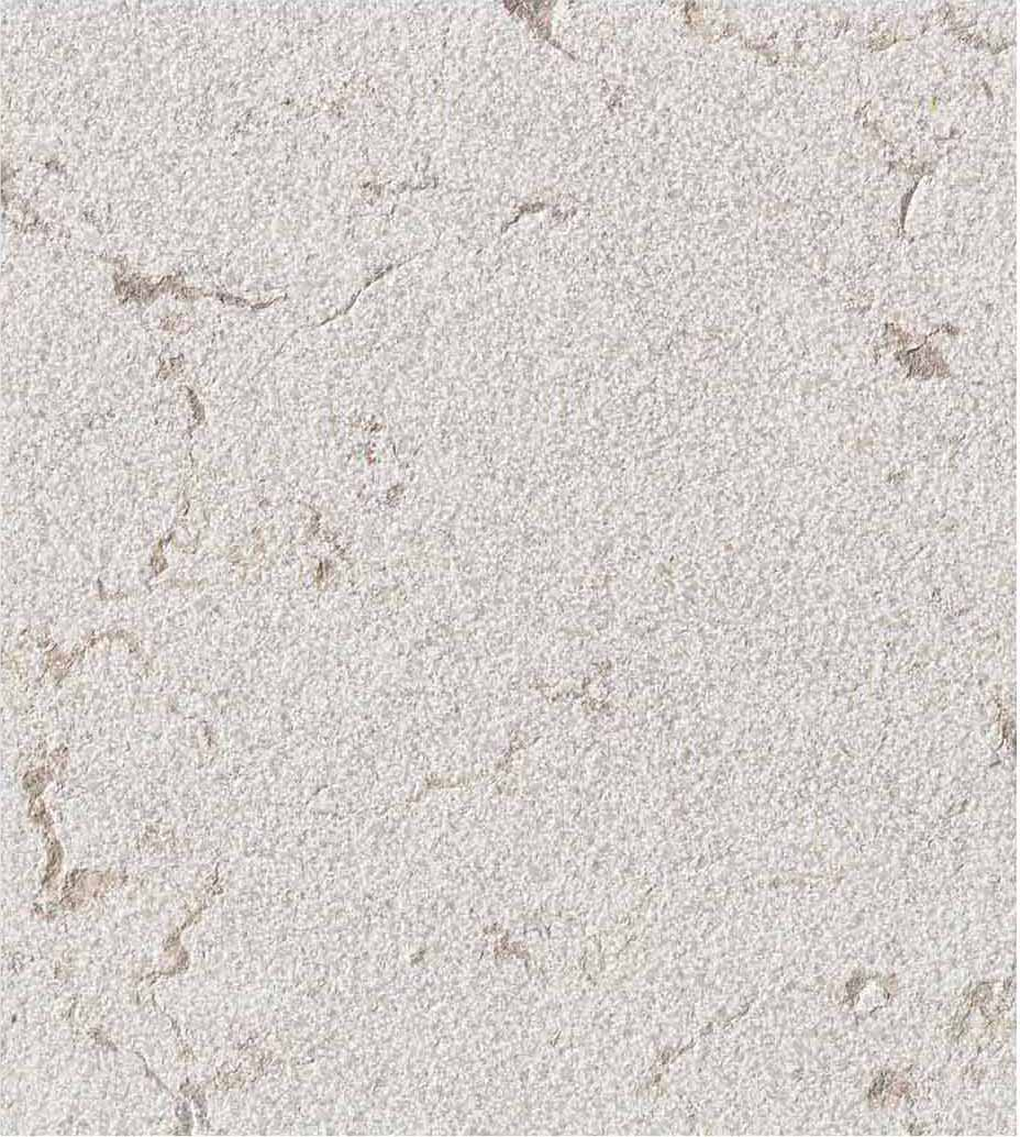 Grolla Beige Bush Hammered - Grolla hard limestone, the company's flagship product, is a versatile and resistant material because it lends itself to all types of processing.  What distinguishes this stone from the others are its extraordinary certified technical-mechanical characteristics, such as low water absorption, resistance to abrasion, salt, pollution and frost.  Thanks to these peculiarities, Grolla is suitable to the realisation of outdoor projects (ventilated and glued facades, floors, swimming pools) and interiors (wall coverings, floors, bathrooms, kitchens, objects and furnishing elements such as sinks, shower trays, tubs, tables and much more).  The colors of the Grolla range from beige to intense pink shades, passing through grey.  The remarkable technical characteristics, combined with the aesthetic qualities of this stone, adapt to suited to styles, architectural contexts and design from classic to contemporary, perfectly matching with wood, glass, steel and other materials.  Interiors and exteriors, classicism and contemporaneity: for Grolla, every solution is possible. | Matter of Stuff