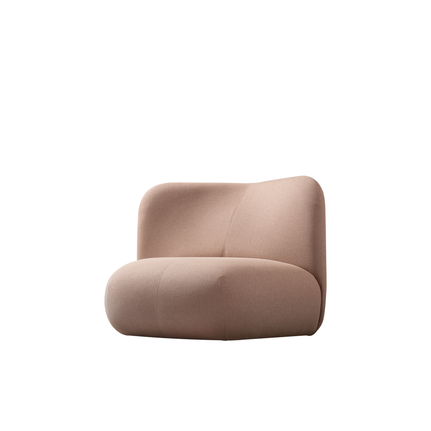 Botera Lounge Chair - Padded with four different types of foam, Botera's design focuses on comfort. A chunky cushion forms the base from which the high or low backrest is developed, making this armchair ideal for use in modular arrangements. And it is precisely through its compositions that Botera brings people together and encourages them to socialise, breaking down the final boundaries between home and contract settings to create a soft, personal, hybrid space. Botera loves being in company, especially in public spaces, but at home it also enjoys being on its own.