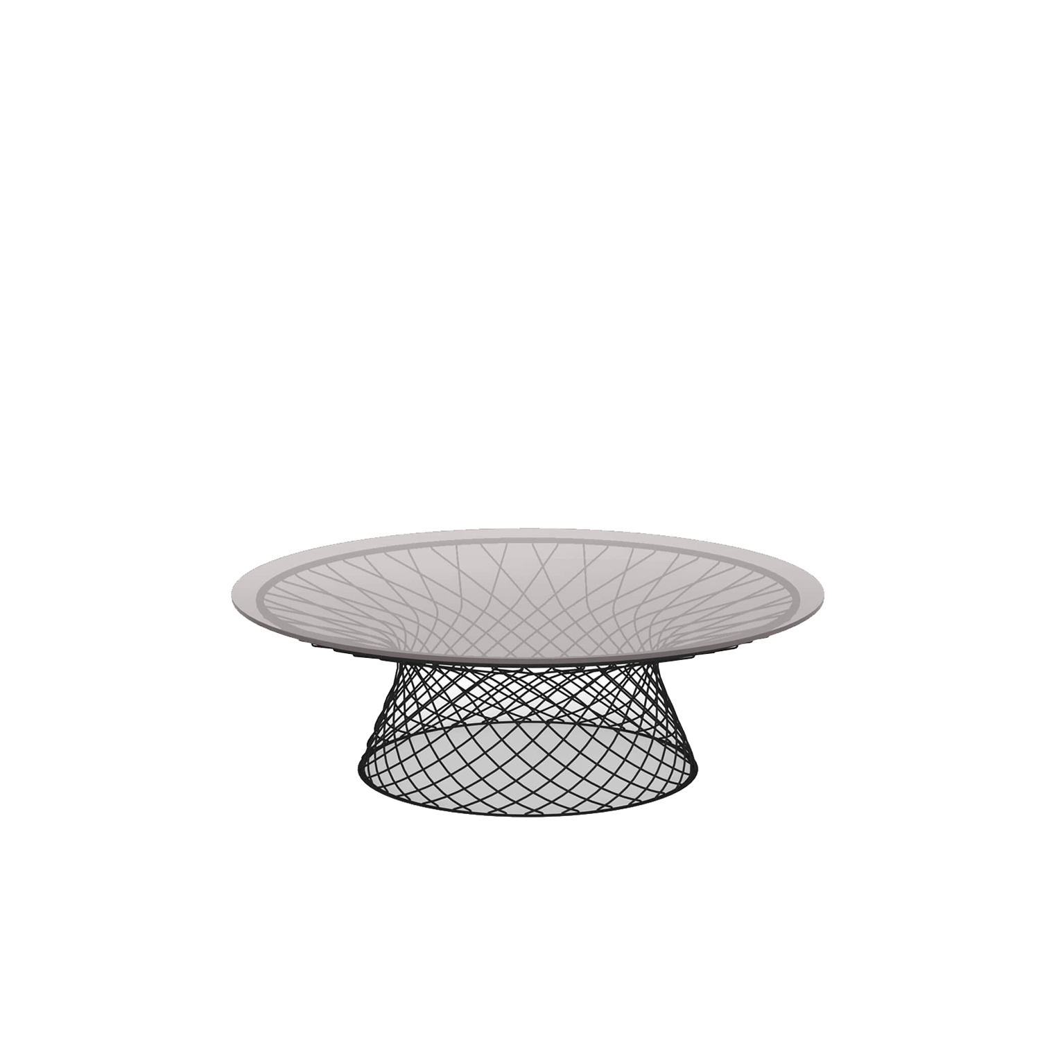 Heaven Low Table - <p>The idea underlying the Heaven project is that of lightness derived from forms emerging from hollow spaces bordered by interweaving lines.</p>