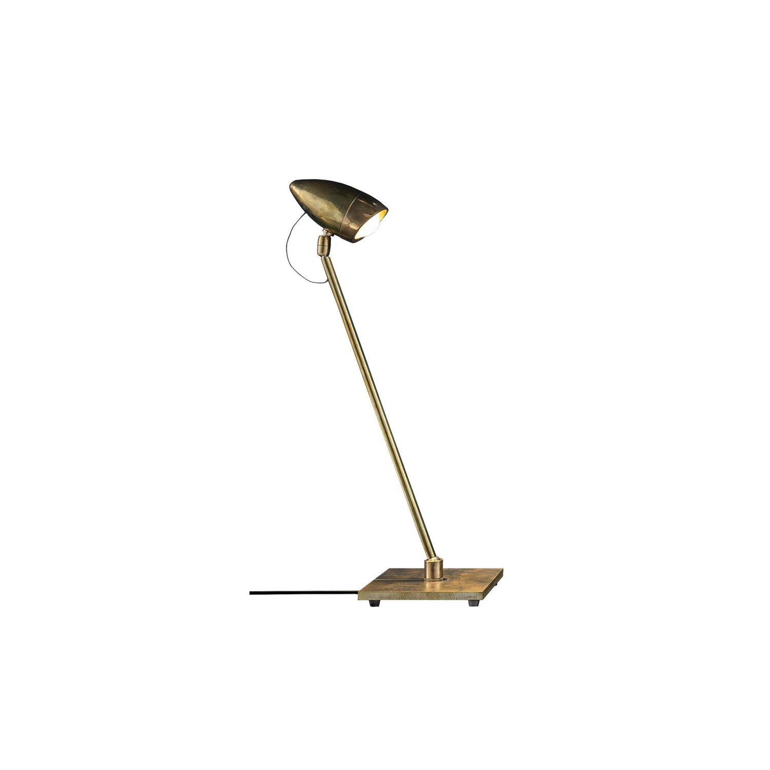 CicloItalia T Table Lamp - A light from the past. CicloItalia is the natural evolution of Ciclocina, our classic lamp from 1989. Made entirely of hand-crafted brass, it is available in two versions: floor and table. A timeless icon from Catellani & Smith, yesterday and today. | Matter of Stuff