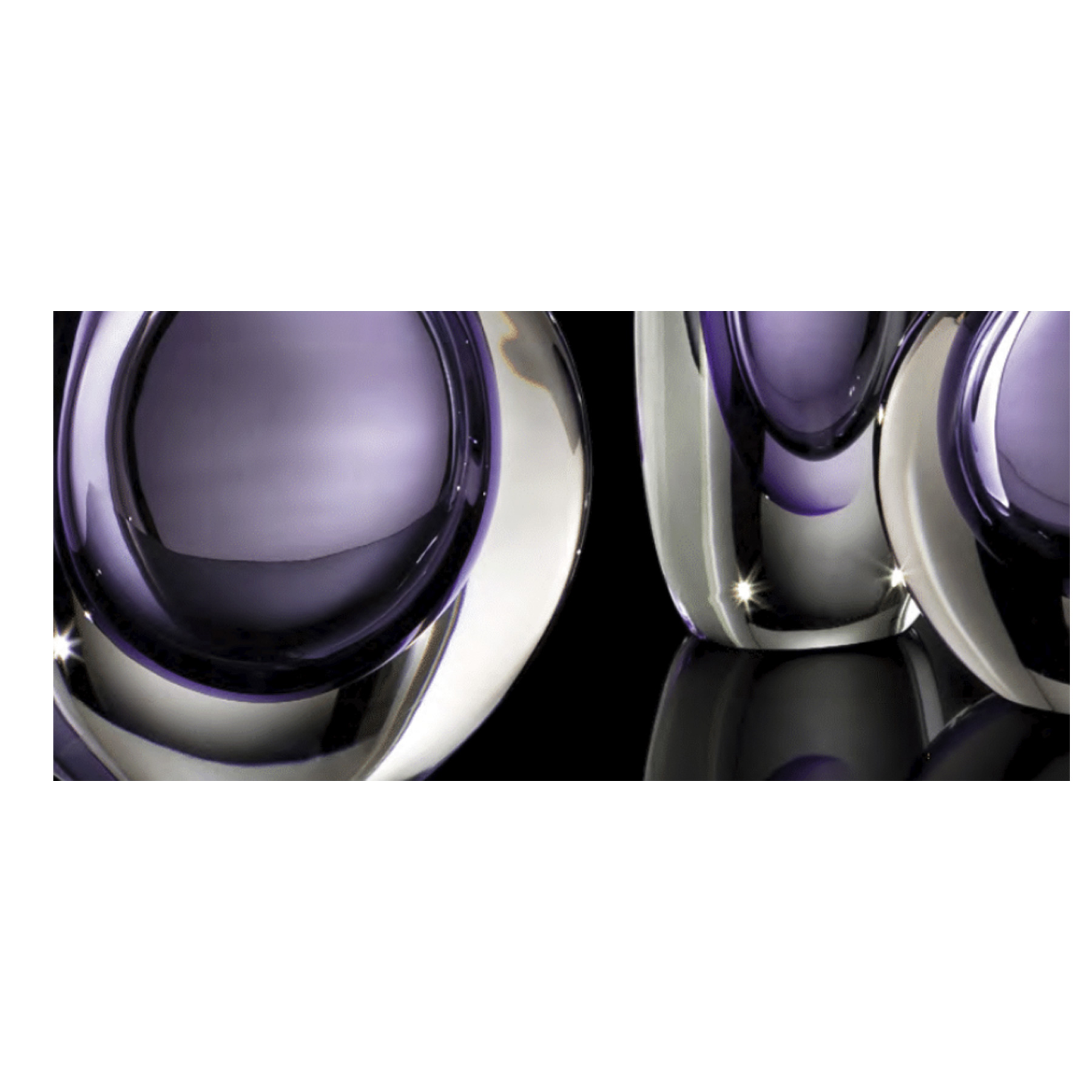 """Mila Tall Vase - <p>From the Mila Collection, this striking mouth-blown vase features an elegant, elongated shape will infuse bold energy into any living room or entryway decor. Made of Murano glass through the 'Submerged' glass technique, which is used to create several layers of glass with contrasting colours inside a single object, giving the illusion of """"submerged"""" colours that lay on top of each other without mixing. This is done by joining different layers of glass through heat and repeatedly submerging them in pots of molten coloured glass. The bulb-like shape of the vase tapering to a dainty mouth large enough to hold a single flower adds a whimsical touch that completes the piece. The vases are distinguished for their distinct colour combination, the vibrant coloured interior encased in a brilliant clear glass exterior. Also available in different colours, from green/amber and aquamarine to medium brown and black.</p>    Matter of Stuff"""