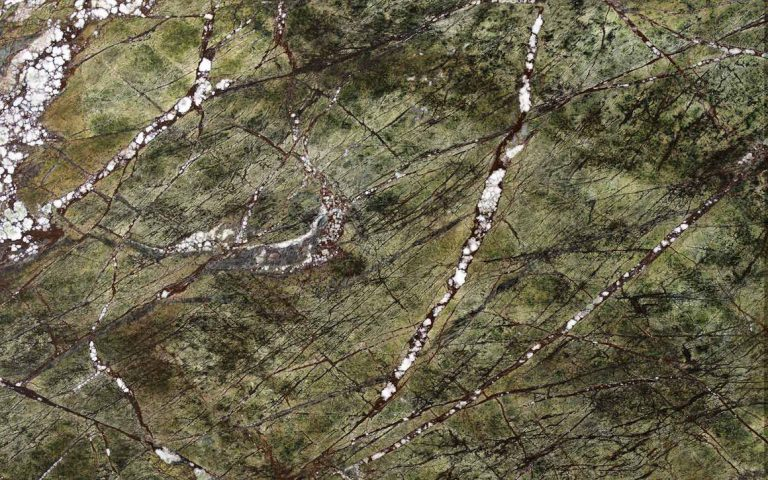 "Rainforest Green Marble - Rainforest Green Marble is an exotic stone consisting of dark and light green tones accented with deep brown veining reminiscent of tree branches. <ul class=""dati-generali"">  	<li class=""field-carico_di_rottura_a_compressione""><span class=""label-det"">Compression tensile strength</span><span class=""value-det"">1580 kg/cm²</span></li>  	<li class=""field-carico_di_rottura_dopo_cicli_gelivita""><span class=""label-det"">Tensile strength after freeze-thaw cycles </span><span class=""value-det"">1584 kg/cm²</span></li>  	<li class=""field-carico_di_rottura_unitario_a_flessione""><span class=""label-det"">Unitary modulus of bending tensile strength </span><span class=""value-det"">210 kg/cm²</span></li>  	<li class=""field-coefficiente_imbibizione_acqua""><span class=""label-det"">Water imbibition coefficient </span><span class=""value-det"">0,00%</span></li>  	<li class=""field-resistenza_all_urto""><span class=""label-det"">Impact strength </span><span class=""value-det"">35 cm</span></li>  	<li class=""field-peso_per_unita_di_volume""><span class=""label-det"">Mass by unit of volume </span><span class=""value-det"">2702 kg/m³</span></li> </ul> 