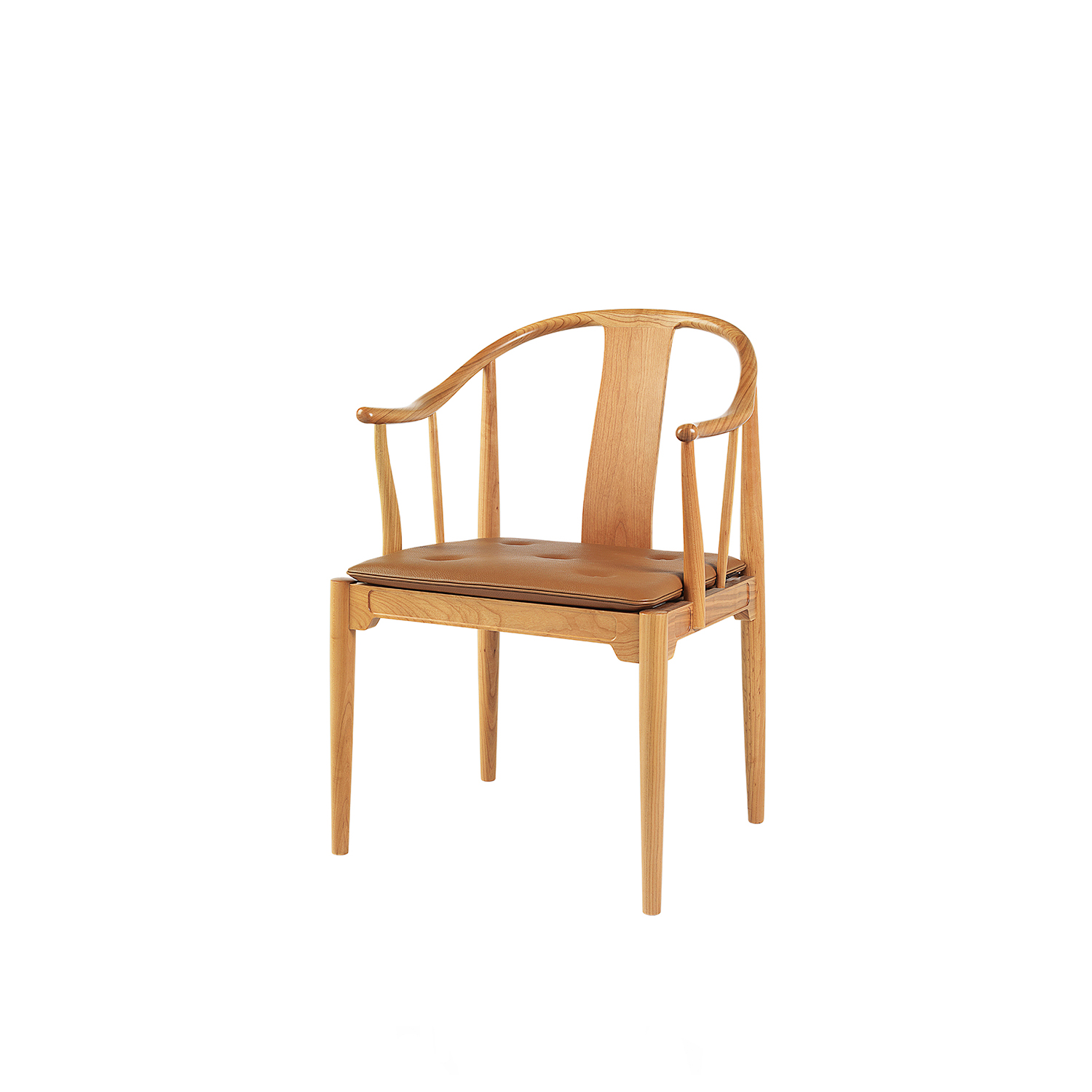 China Armchair - The China Chair™ was designed by Hans J. Wegner, in 1944 and it stands out as the only solid wood chair in the Fritz Hansen collection. Wegner found inspiration for this timeless classic in Chinese chairs from the 17th and 18th Centuries. 