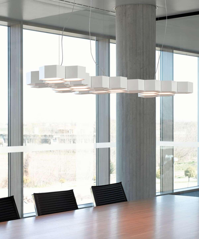 Honeycomb Suspension Lamp