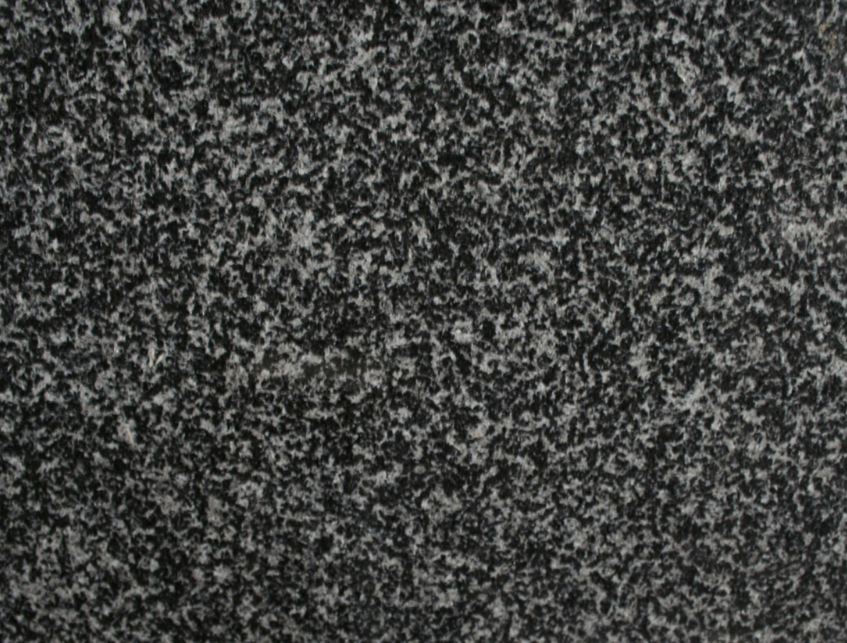 Nero Impala - Nero Impala is a very durable type of granite from India. This stone is suitable for many design projects but especially for outdoor applications.  | Matter of Stuff