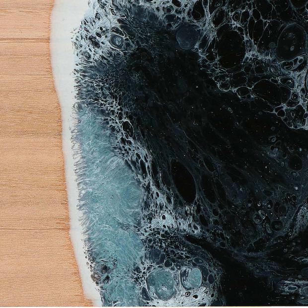 Nero Marquinia Liquid Ceramic Effect Varnish