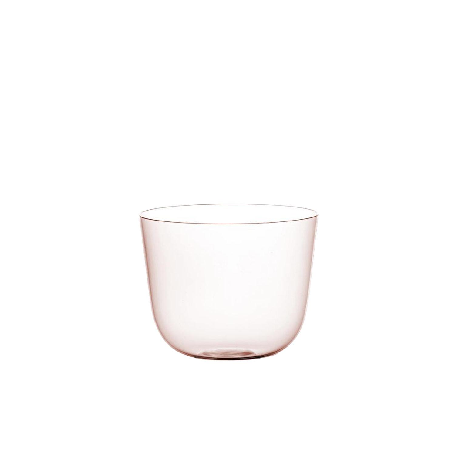 """Drinking Set No.267 Alpha Flower Bowl - Set of 6 - The enforced shape of the """"Alpha"""" set, which fits snugly into the hand, is inspired by a copper beaker from the Middle Ages on show at the MAK/Vienna. The copper beaker was, in turn, inspired by Islamic shapes. The """"Alpha Beaker"""" was very much a product of the 1950s, stackable and ideal for young families who need products that are both elegant and practical. 