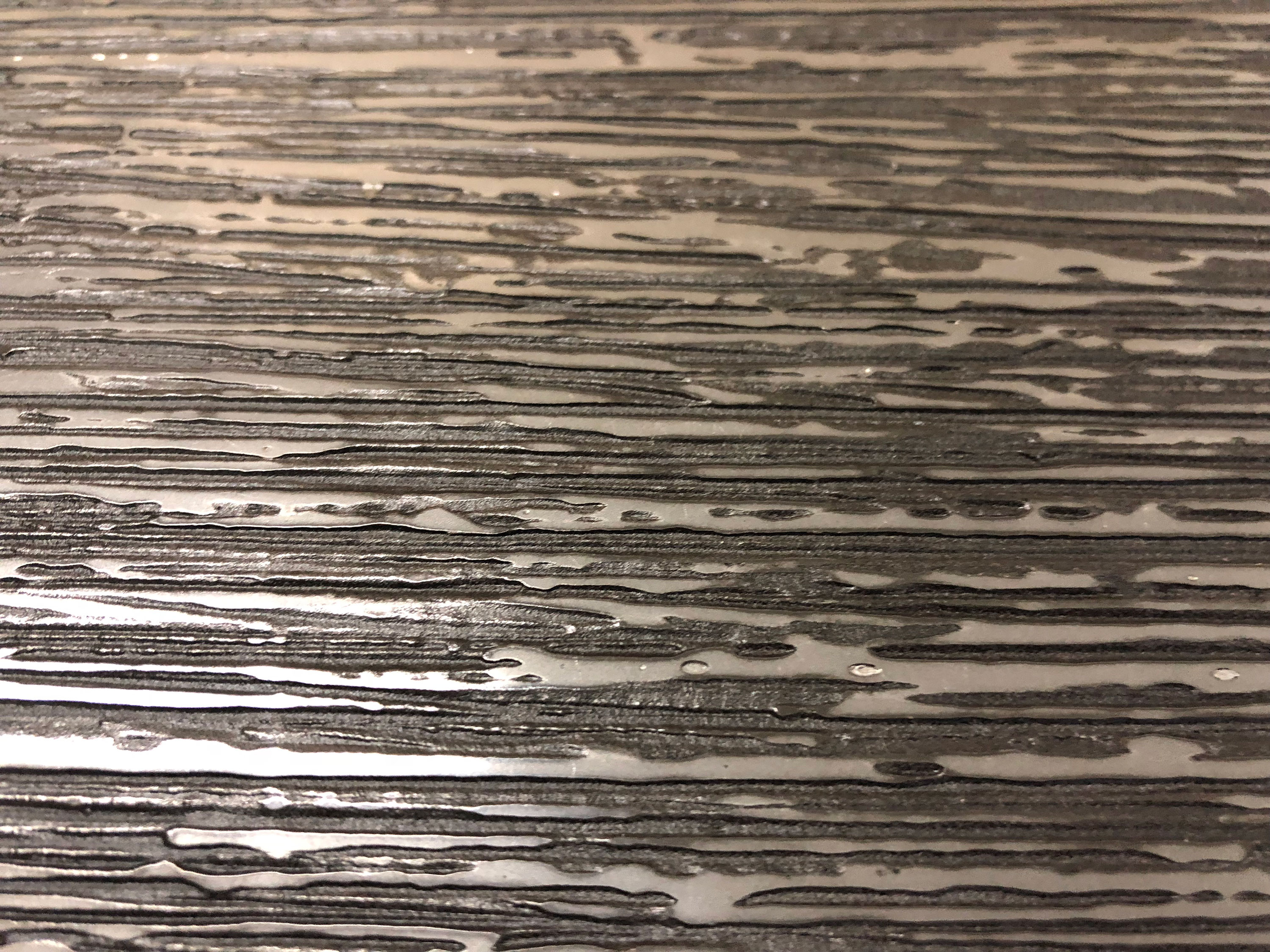 Etched - Resine Metalliche is a process of mixing metal powder with a resin to create castings that give the appearance of solid metal. Creating the strength and appearance of metal, with lower production costs. | Matter of Stuff