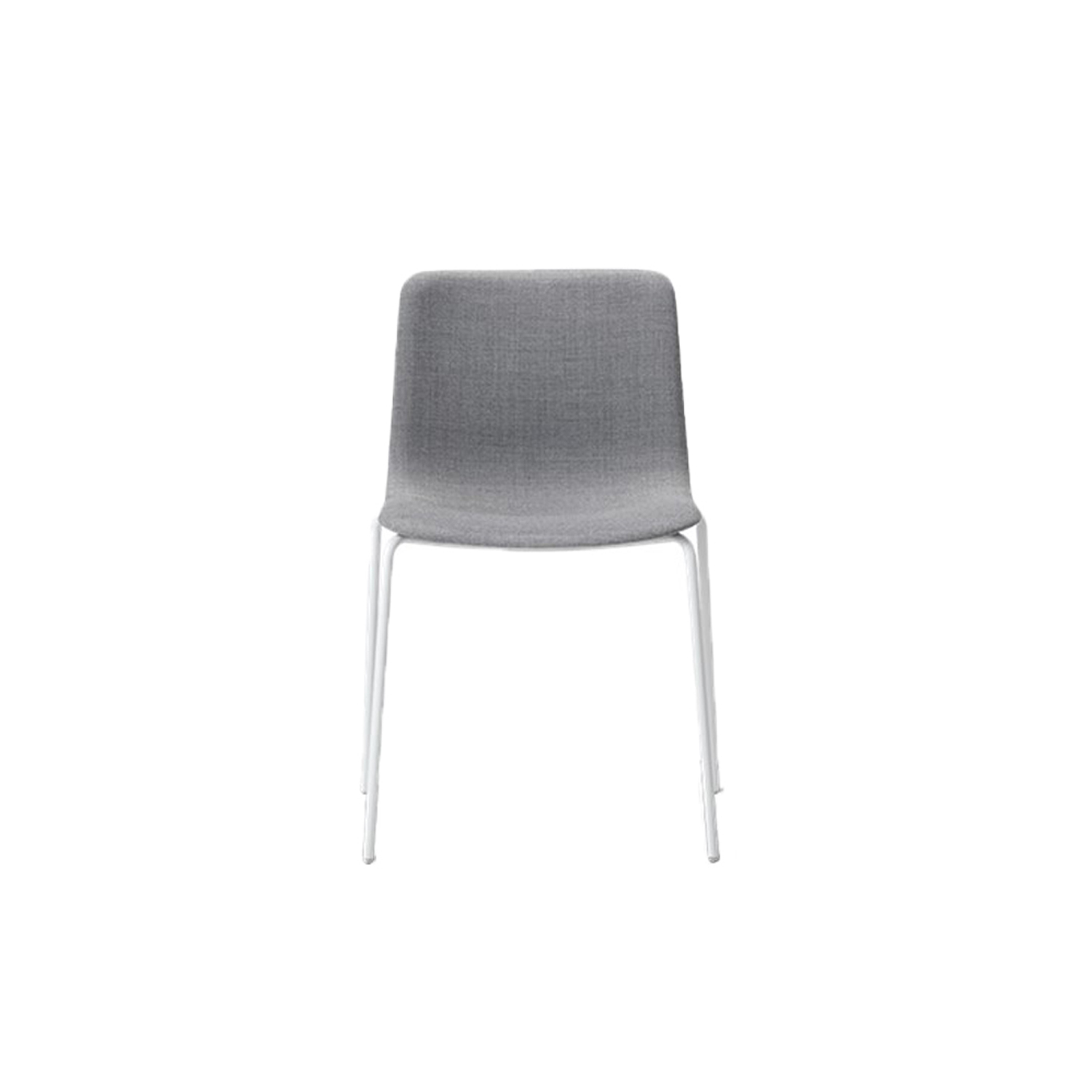 Pato 4 Leg Tube Base Chair Fully Upholstered - Pato is a carefully crafted multipurpose chair in eco-friendly polypropylene that can be used outdoors. The chair is available with a range of optional features including coupling. The chair can be tuned from basic to exclusive with optional upholstery.  Pato is a prime example of our focus on sustainability and protecting the environment, reflected in a chair that's 100% renewable and recyclable. All components can be incorporated into future furniture production, thus contributing to a circular economy by minimising the use of materials, resources, waste and pollution.   Merging traditional production methods with cutting-edge technology, Pato is a human-centric, highly versatile series of multi-purpose functional furniture that draws on our in-depth experience with materials, immaculate detailing and heritage of fine craftsmanship. Allowing us to apply our high standards of texture, finish and carpentry techniques to an array of materials in addition to wood for products aimed at a mass market.   With its clean lines and curves, Pato echoes the ethos of Danish-Icelandic design duo Welling/Ludvik. Demonstrating their belief that good design has the ability to be interesting, even when reduced to its most simple form. Where anything extraneous is eliminated and every detail has a purpose.   Together we spent nearly three years developing the shell structure to have a soft surface that's also wear and tear resistant. Enhancing the chair's ability to optimally conform to the user's body is a subtle beveled edge. A technique from classic cabinetmaking, which gives the chair a sense of handcrafted finesse. Each Pato is detailed and finished by hand by our highly skilled crafts people, who refine the beveled edge and the silky, resilient surface. Setting a new standard for the execution and finish of polypropylene.   Since the success of its initial launch, we've expanded Pato into an extensive collection of variants, featu