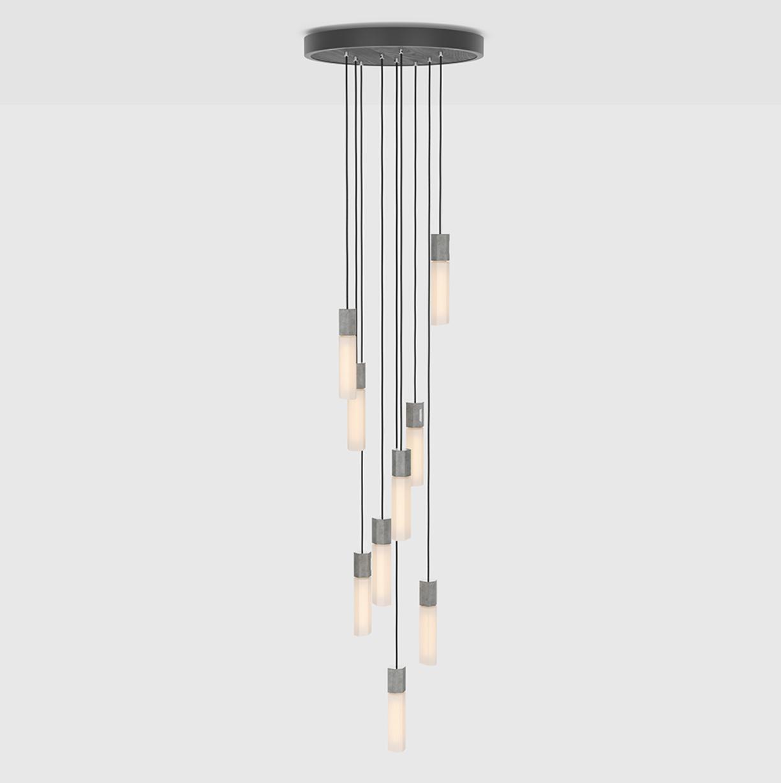 Basalt Nine Pendant