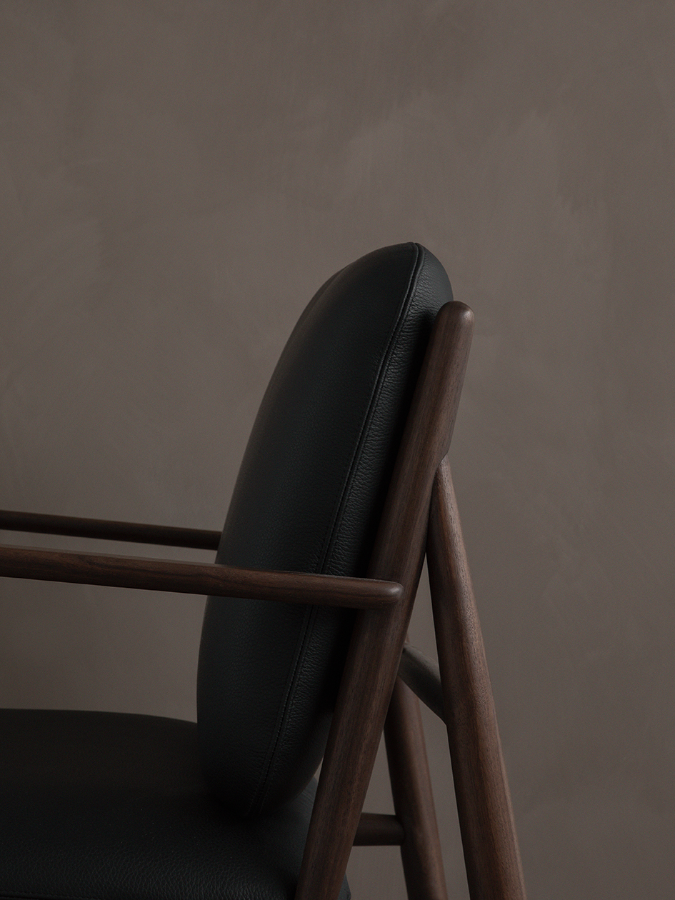 Von Armchair - <p>Taking inspiration from one of Lucian Ercolani archived designs, the new Von Collection designed by Hlynur V. Atlason, is the latest addition to the ercol portfolio. Catering for three areas - lounging, socialising and relaxing it comprises of seating, bench and table units which can be fitted together to create bespoke configurations, tailored to the requirements of both domestic and commercial spaces. The VON armchair has been made to give off the warm, natural feeling of home when used in any space, residential, commercial or hospitality. Made in solid ash, also available in solid walnut.</p>  | Matter of Stuff