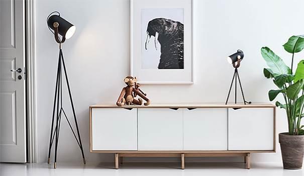 Carronade High Table Lamp