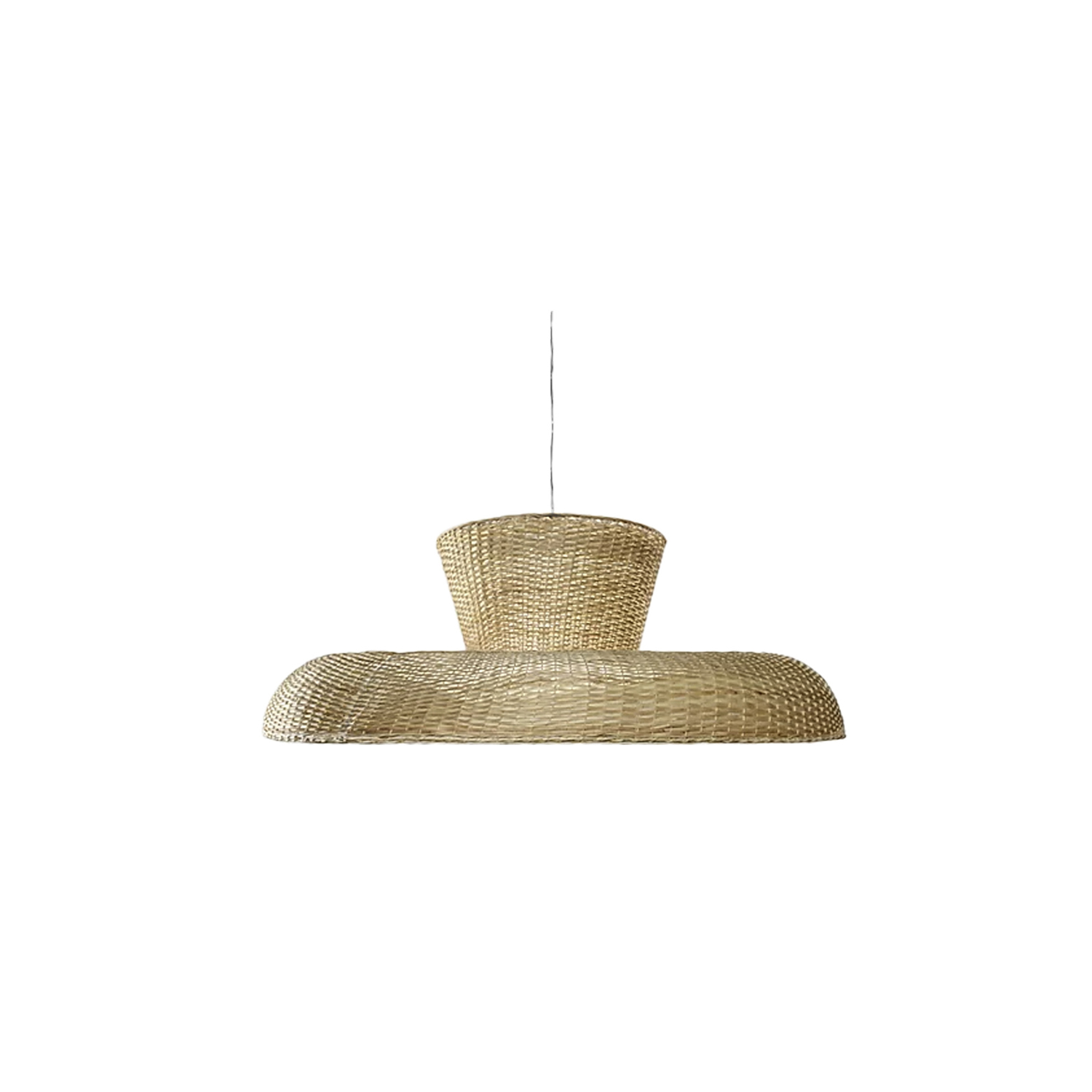 "Strikha Pendant Light - ""Strikha"" in Ukrainian means the straw roof.